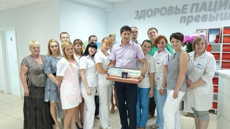 День рождения директора Клиники Новая Медицина