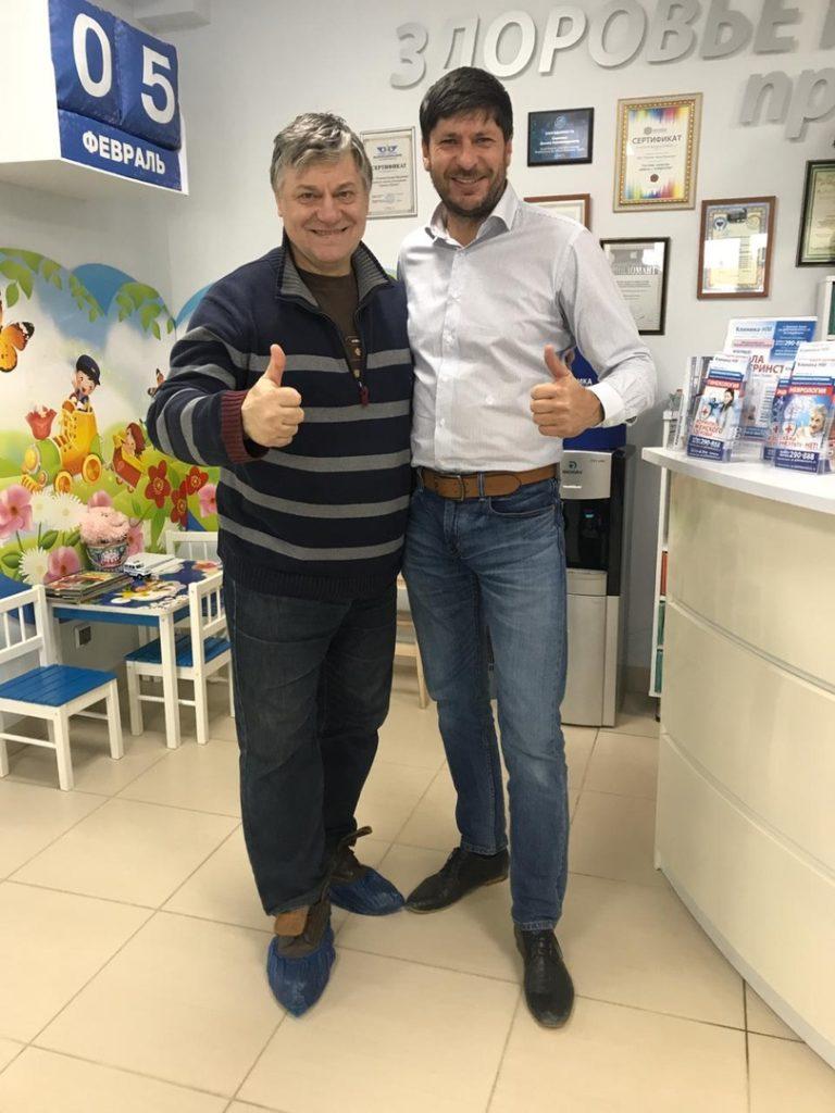 Александр Цуркан в Клиника-НМ